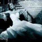 Наталья Ворона для рекламы свадебных платьев Slanovskiy. Фотограф Геннадий Працевич